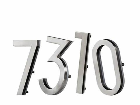 LED Numbers and Plaques - AVAILABLE IN 2019 SPRING