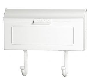 Product Name: Cast Alum. Mailbox White 16x8.25x4.25