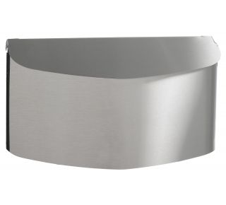 Product Name: Brushed Stainless Steel Mailbox