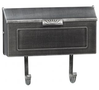Product Name: Cast Alum. Mailbox Swed.Silver 16x8.25x4.25