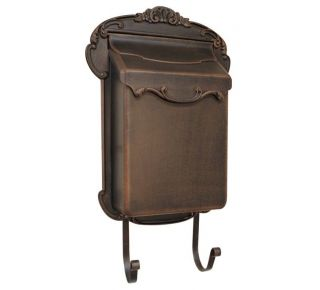Product Name: Lux. Vertical Cast Alum. Mailbox Ant. Copper 13x18.75x4.75