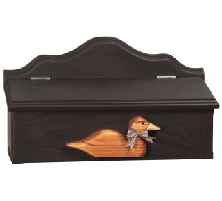 Product Name: Pinewood Mailbox - Duck 16x9x6
