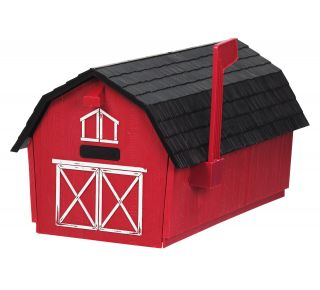 Product Name: Barn Rural Mailbox 12x11x21