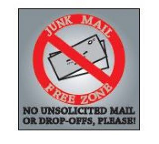 Product Name: NO JUNK MAIL