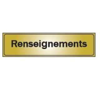 Product Name: RENSEIGNEMENTS
