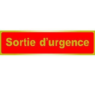 Product Name: SORTIE D'URGEN