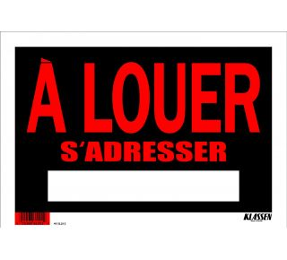 Product Name: A LOUER S'ADRES