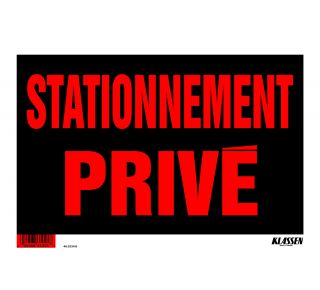 Product Name: STATIONNEMENT PRIVE