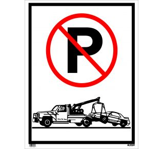 Product Name: JUMBO SIGN TOW AWAY(SYMBOL)