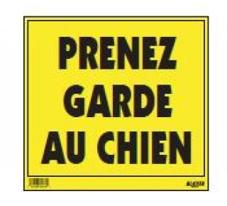 Product Name: PRENEZ GARDE CHIEN