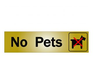 Product Name: NO PETS