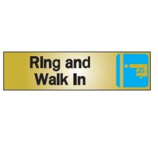 Product Name: RING & WALK IN