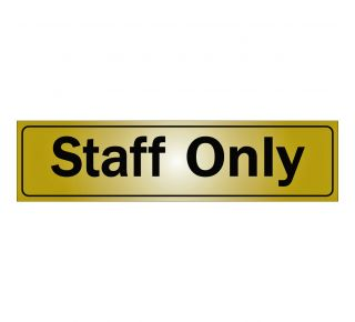 Product Name: STAFF ONLY