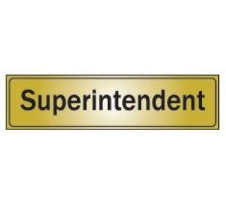 Product Name: SUPERINTENDENT