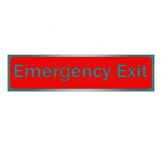 Product Name: EMERGENCY EXIT