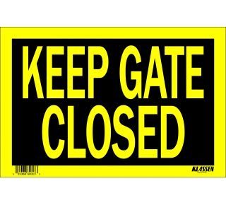 Product Name: KEEP GATE CLSD