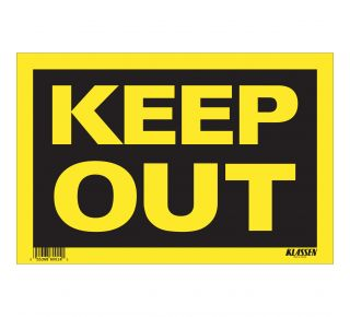 Product Name: KEEP OUT
