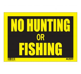 Product Name: NO HUNT/FISH
