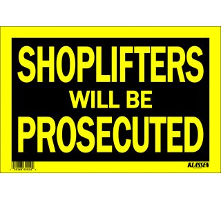 Product Name: SHOPLIFT/PROSEC.