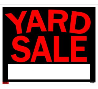 Product Name: YARD SALE