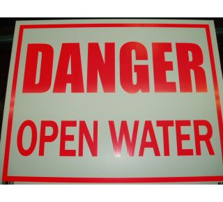 Product Name: DANGER/ WATER