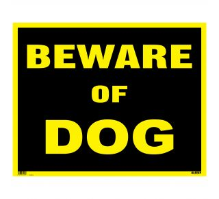 Product Name: BEWARE OF DOG