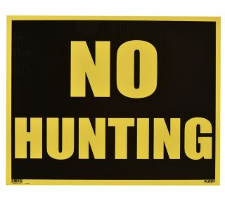 Product Name: NO HUNTING