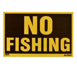 Product Name: NO FISHING