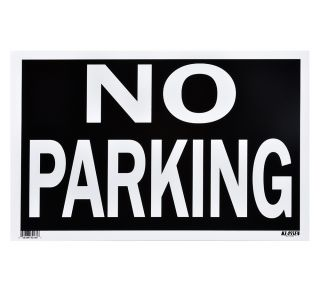 Product Name: NO PARKING (BLACK)