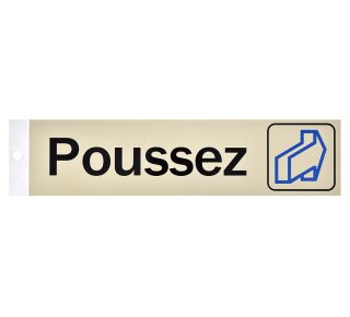 Product Name: POUSSEZ (HORIZ)