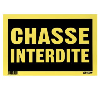 Product Name: CHASSE INTERDIT