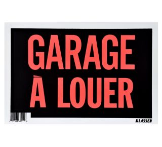 Product Name: GARAGE A LOUER