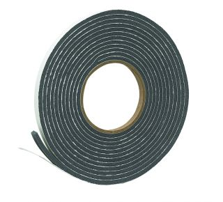 "Product Name: V212GC - VINYL FOAM TAPE 3/8""CHARCOAL"