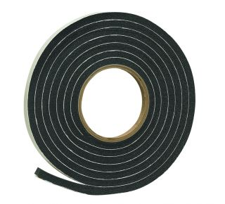 "Product Name: R538C - SPONGE RUBBER FOAM TAPE 3/8""X5/16""X10'BLK"
