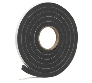 "Product Name: R930C - SPONGE RUBBER FOAM TAPE 1/2""X 9/16""X 10'BLK"