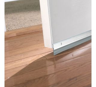 "Product Name: A5936C - PREMIUM ALUMINUM & VINYL DOOR SWEEP 1-5/8""X36"" SILVER"