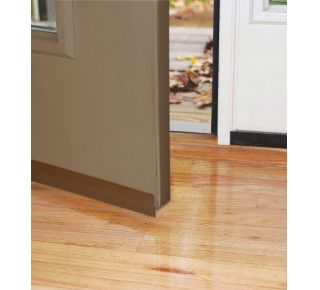 "Product Name: DS101BHC - SELF-STICK DOOR SWEEP 1-1/2""X36"", BROWN"