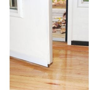 "Product Name: DS101WHC - SELF-STICK DOOR SWEEP 1-1/2""X36"", WHITE"