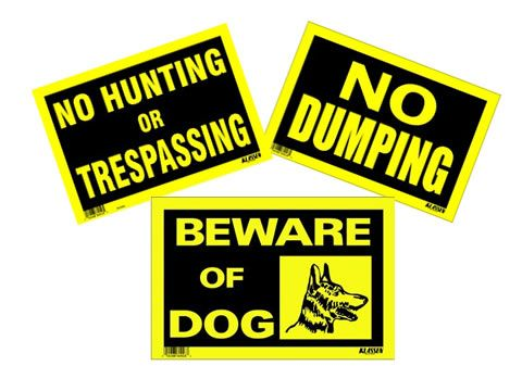 yellow-8inch-x-12inch-high-impact-signs
